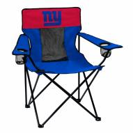 New York Giants Elite Tailgating Chair