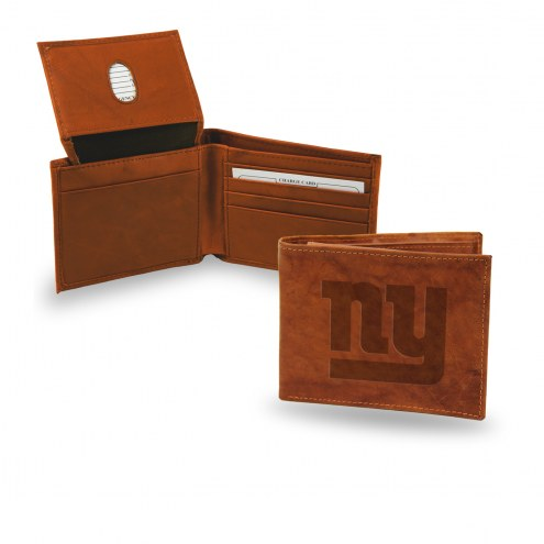 New York Giants Embossed Bi-Fold Wallet