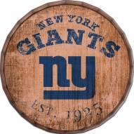 "New York Giants Established Date 24"" Barrel Top"
