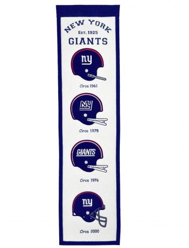 New York Giants Fan Favorite Banner