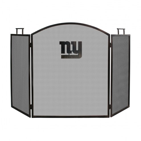 New York Giants Fireplace Screen