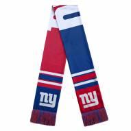 New York Giants Colorblock Big Logo Scarf