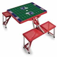 New York Giants Folding Picnic Table