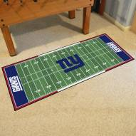 New York Giants Football Field Runner Rug