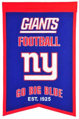 New York Giants Franchise Banner