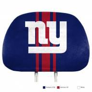 New York Giants Full Print Headrest Covers