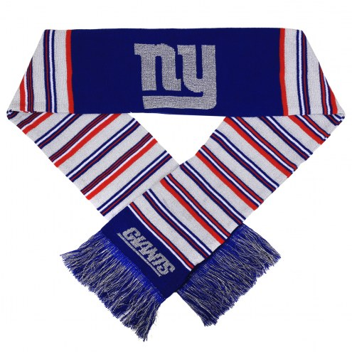 New York Giants Glitter Stripe Scarf