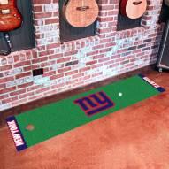 New York Giants Golf Putting Green Mat