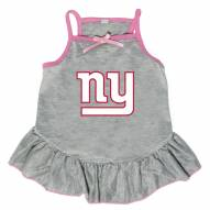 New York Giants Gray Dog Dress