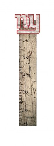 New York Giants Growth Chart Sign