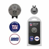 New York Giants Hat Clip & Marker Set