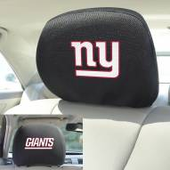 New York Giants Headrest Covers