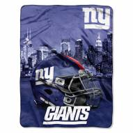 New York Giants Heritage Silk Touch Blanket