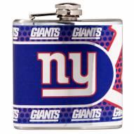 New York Giants Hi-Def Stainless Steel Flask
