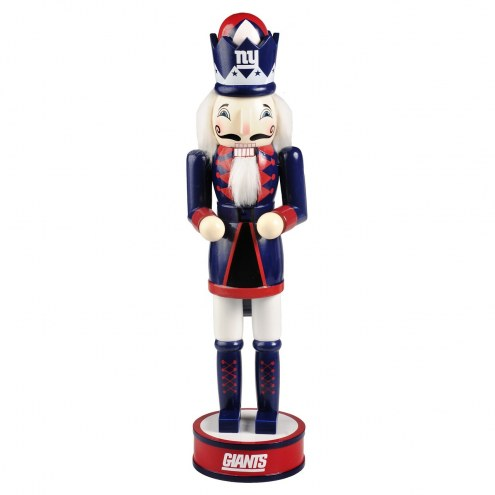 New York Giants Holiday Nutcracker