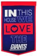 New York Giants Home Banner