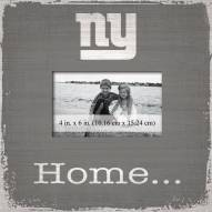 New York Giants Home Picture Frame