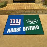 New York Giants/New York Jets House Divided Mat