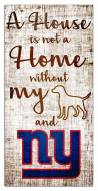 New York Giants House is Not a Home Sign