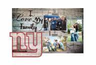 New York Giants I Love My Family Clip Frame