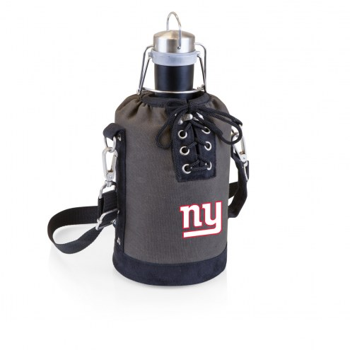 New York Giants Insulated Growler Tote with 64 oz. Stainless Steel Growler