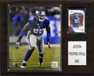 "New York Giants Jason Pierre-Paul 12 x 15"" Player Plaque"
