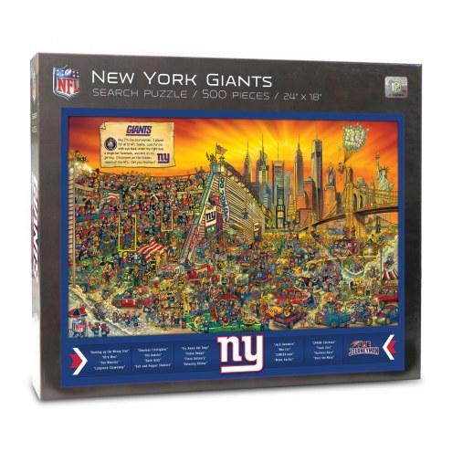 New York Giants Joe Journeyman Puzzle