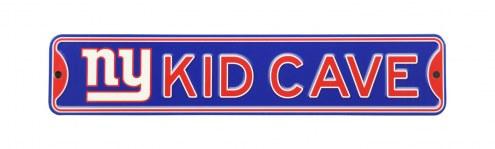 New York Giants Kid Cave Street Sign