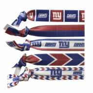 New York Giants Knotted Hair Tie
