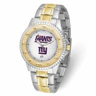 New York Giants Competitor Two-Tone Men's Watch