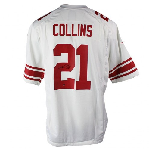 New York Giants Landon Collins Signed White Replica Jersey