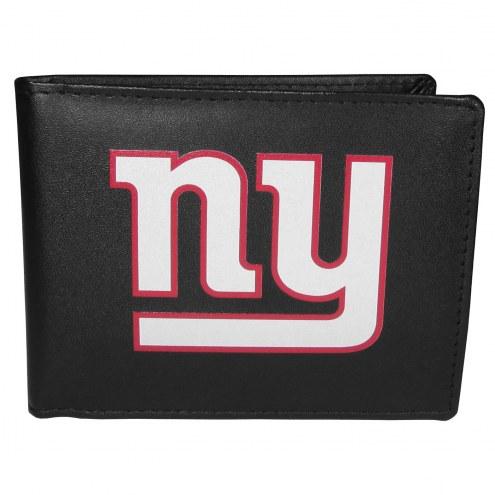 New York Giants Large Logo Bi-fold Wallet