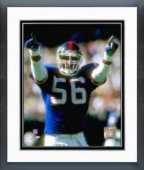 New York Giants Lawrence Taylor 1989 Action Framed Photo