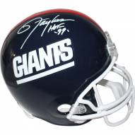 New York Giants Lawrence Taylor Signed Replica Throwback Helmet w/ HOF 99