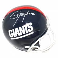 New York Giants Lawrence Taylor Signed Replica Throwback Helmet