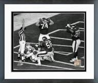 New York Giants Lawrence Taylor Super Bowl XXI Framed Photo