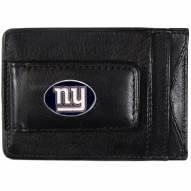 New York Giants Leather Cash & Cardholder