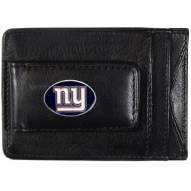 New York Giants Leather Cash & Cardholder