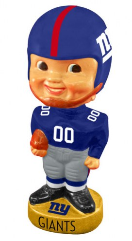 New York Giants Legacy Football Bobble Head