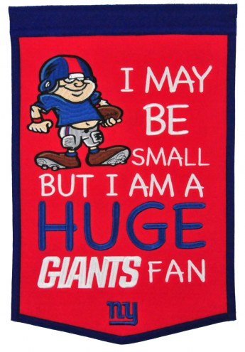New York Giants Lil Fan Traditions Banner