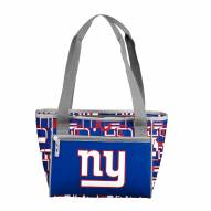 New York Giants 16 Can Cooler Tote
