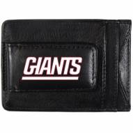 New York Giants Logo Leather Cash and Cardholder