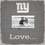 New York Giants Love Picture Frame