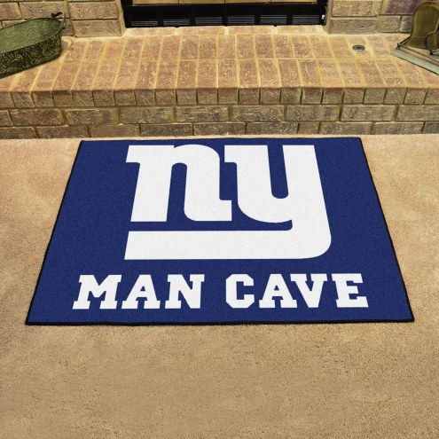 New York Giants Man Cave All-Star Rug