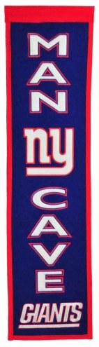 New York Giants Man Cave Banner