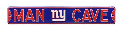 New York Giants Man Cave Street Sign