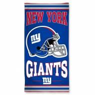New York Giants McArthur Beach Towel