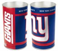 New York Giants Metal Wastebasket