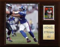 "New York Giants Michael Strahan 12 x 15"" Player Plaque"
