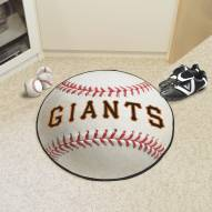 New York Giants Baseball Rug